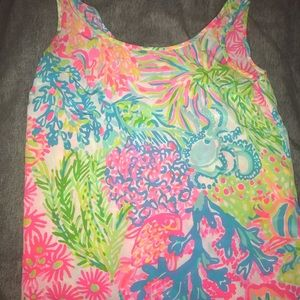Lilly Pulitzer Cosmo Top Lover's Coral